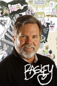 Francisco Kjolseth  |  The Salt Lake Tribune Pat Bagley. History mugs.