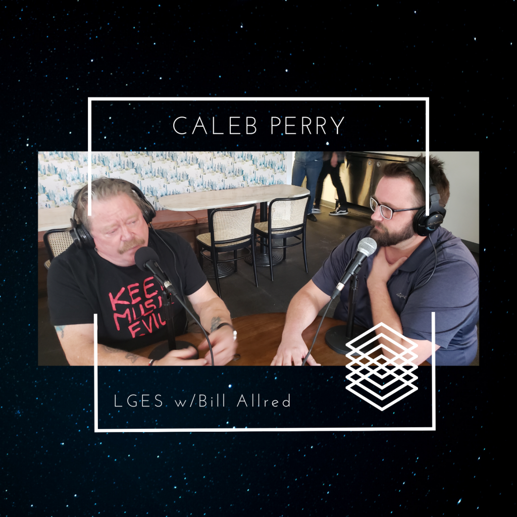Bill's Mustache (and Bill) interview Caleb Parry about the Ziegfeld Theater!